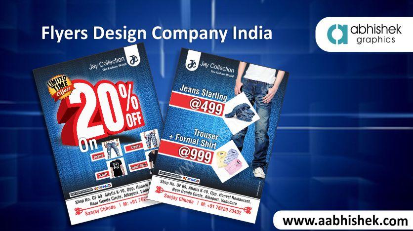 Flyers Design Company India   Flyers Design service