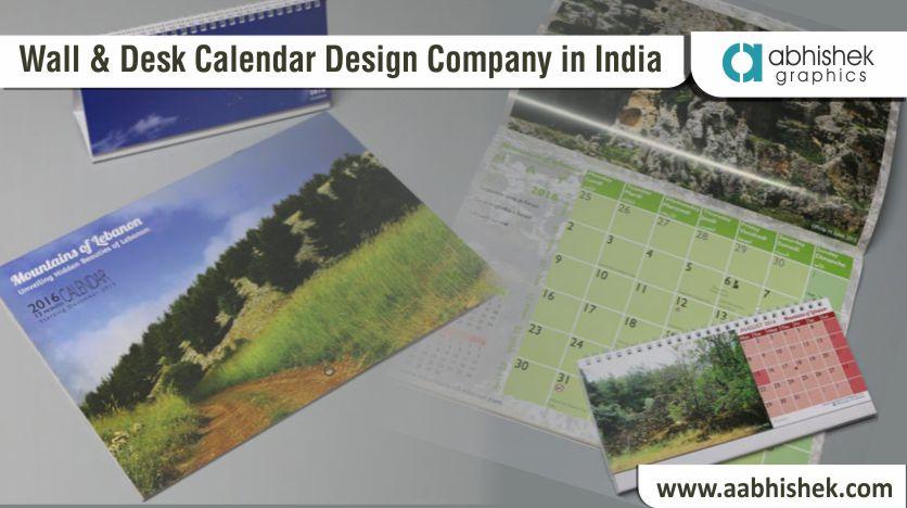 calendar design company, wall calendar design company, desk calendar design company
