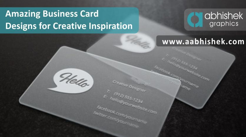 amazing business cards designs for creative inspiration - Amazing Business Cards