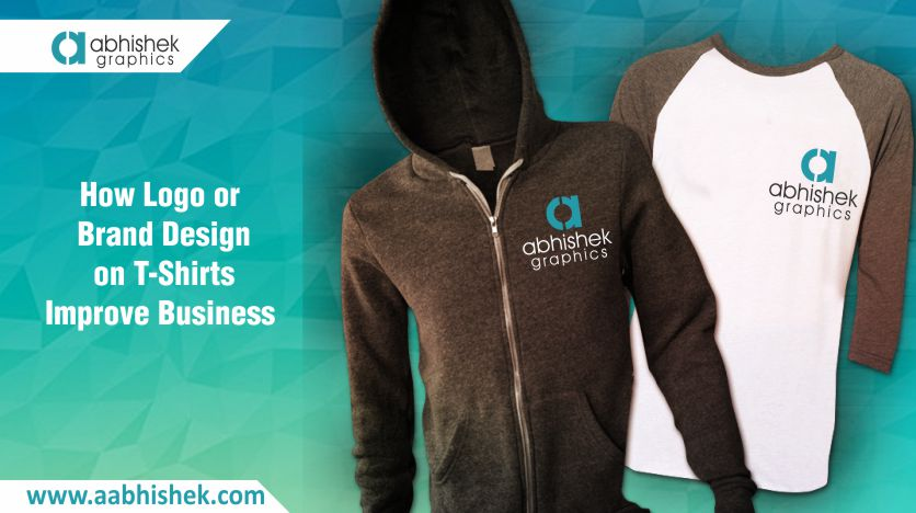 Logo or brand design on t shirts improve business for T shirt advertising business