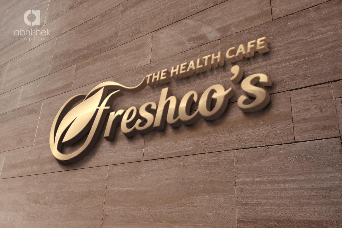 Logo Design Logo Maker Cafe Logo Cafe Logo Design Cafe Restaurant Logo Logo Cafe Design Freshcos Cafe Vadodara Creative Graphic Design Company In India