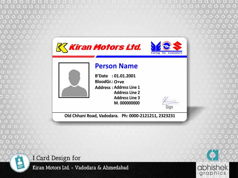 i card designers in gujarat, identity card design company india