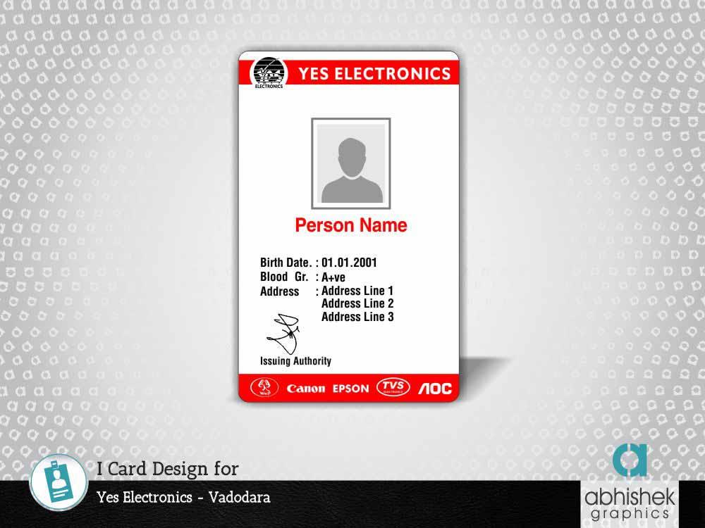 i card design, id card designers, identity card design company in vadodara