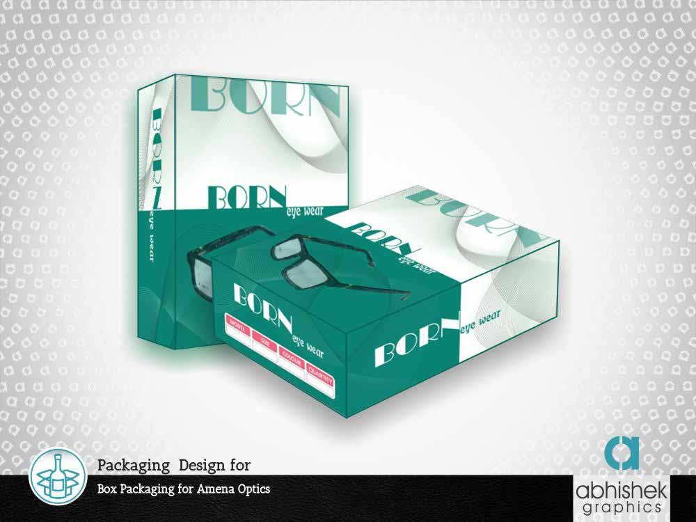 Packaging Design for Box Packaging