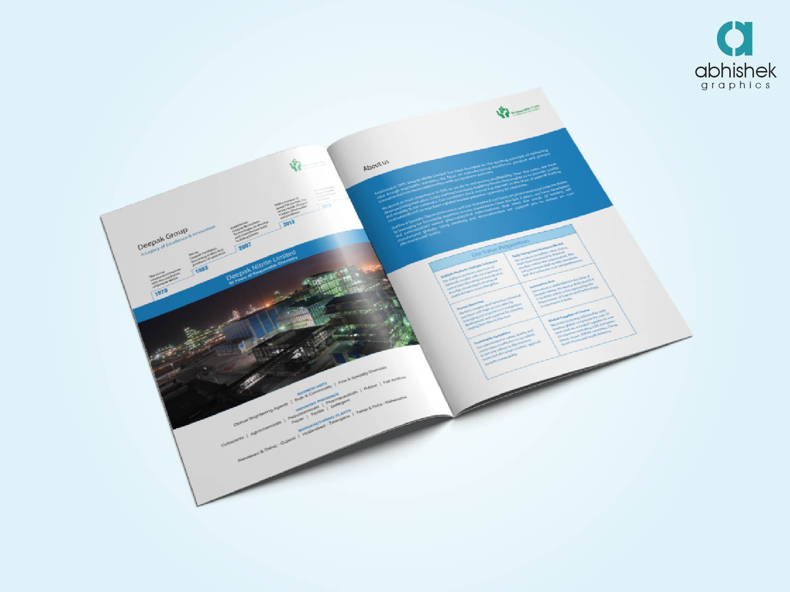brochure for web design company creative brochure design agency in india abhishek graphics