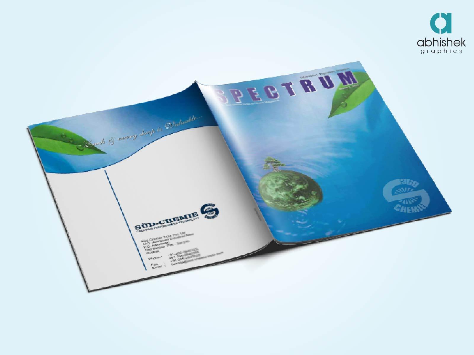 brochure design layout | creative graphic design company in india