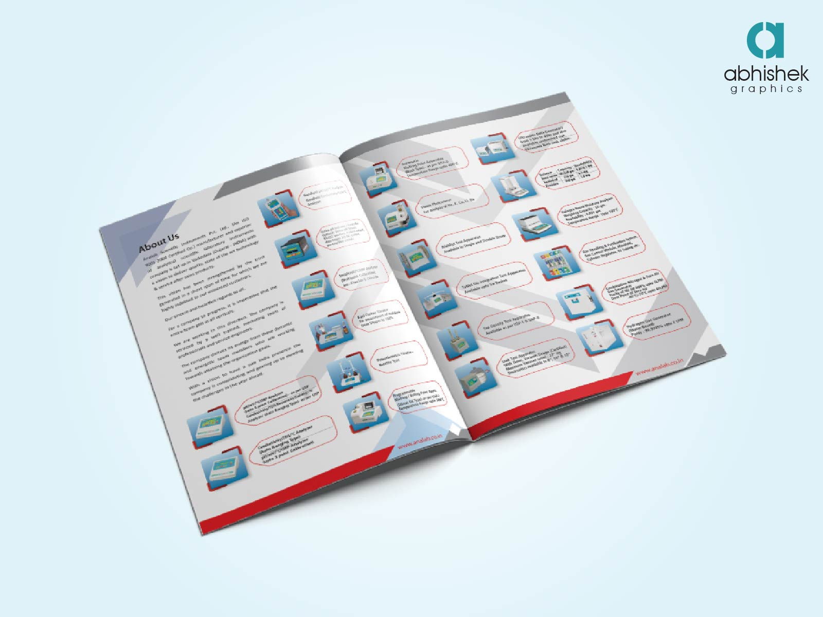 Creative brochure design agency in india abhishek graphics for Product design companies