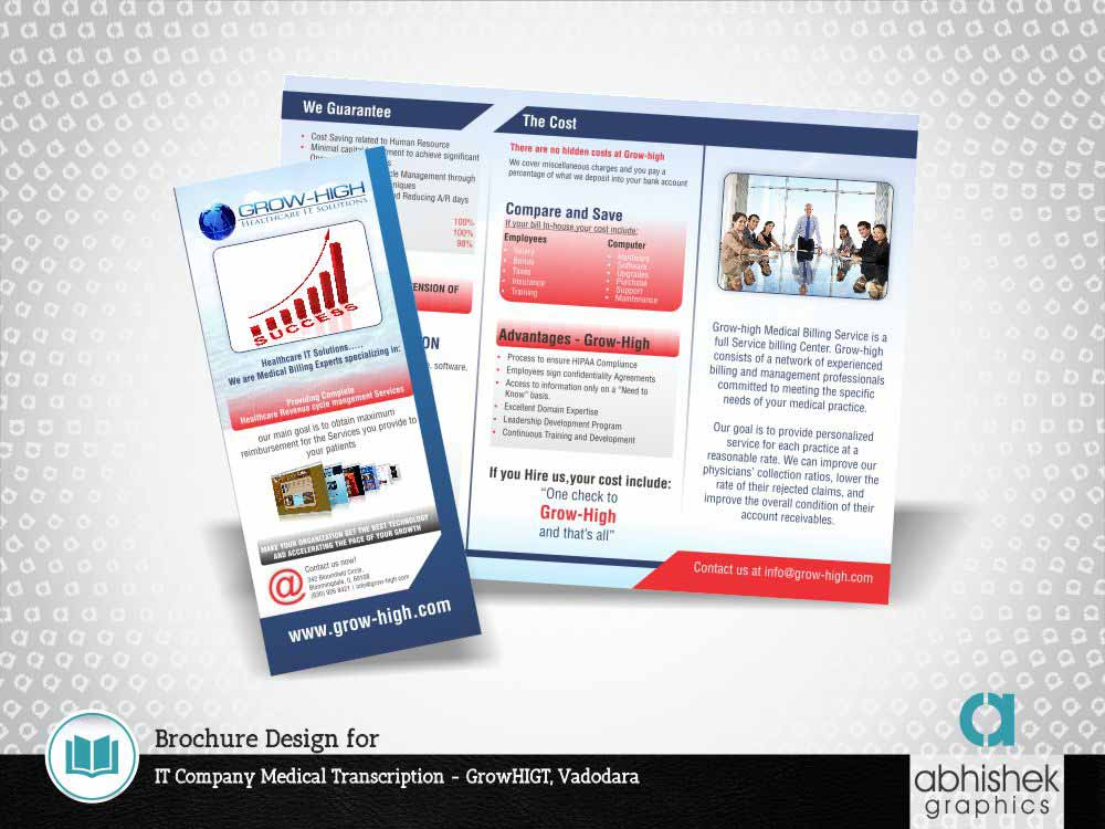brochure design for it medical company, brochure design, medical brochure design, medical tri fold brochure design, Healthcare brochure design, brochure design