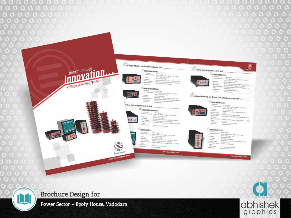 brochure, brochure design, brochure design for power sector