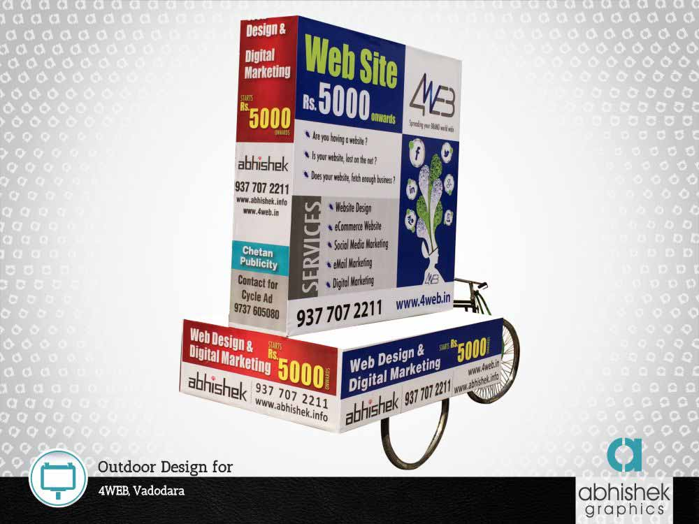Out Door Design For 4WEB, Vadodara
