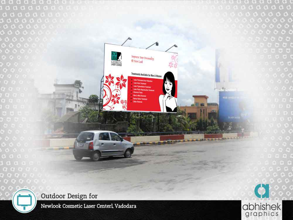 Out Door Design For Newlook Cosmetic Laser Centerl, Vadodara