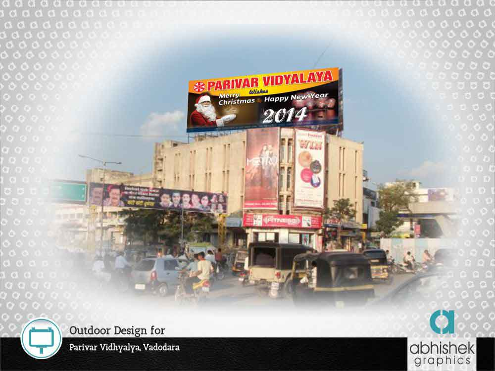 Out Door Design For Parivar Vidhyalaya, Vadodara