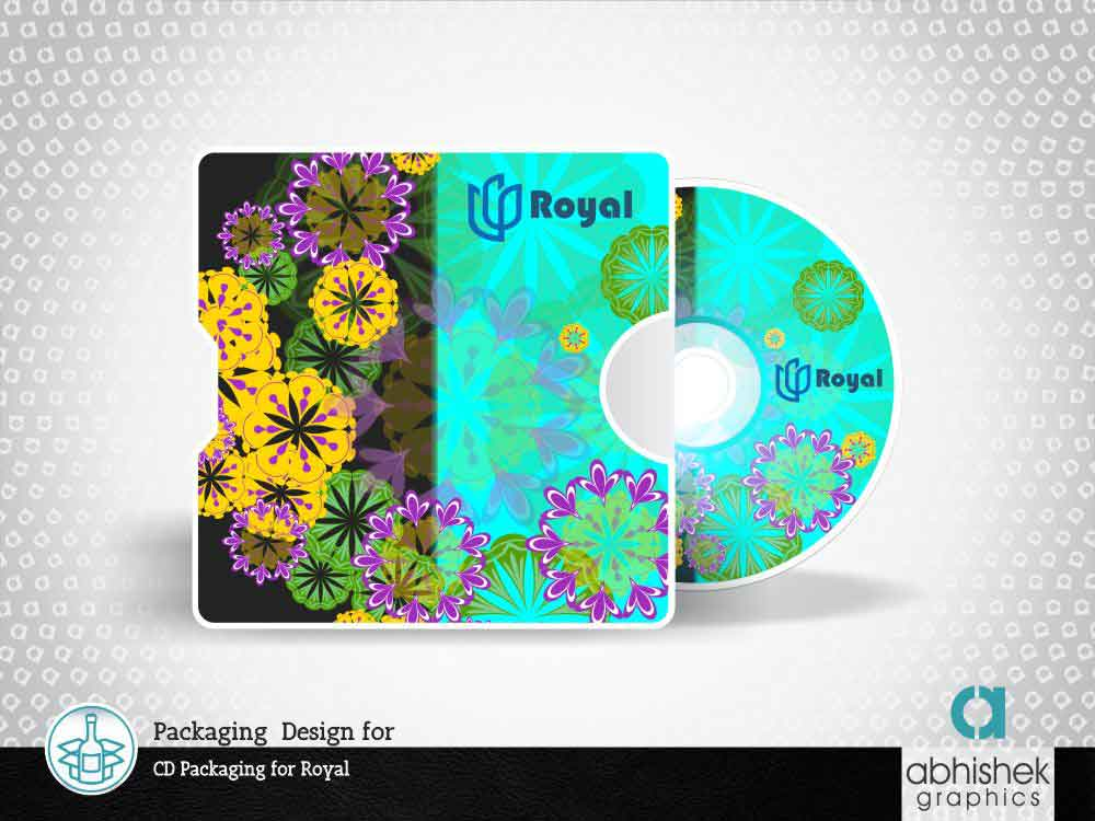 Packaging Design for CD Packaging