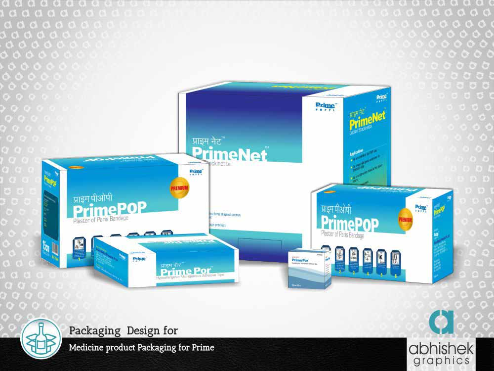 Packaging Design for Medicine product Packaging