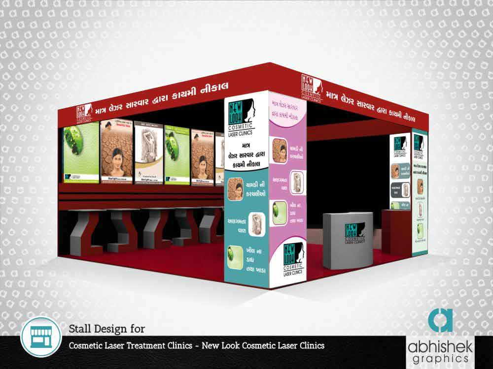 Stall Design for Cosmetic Laser Treatment Clinics
