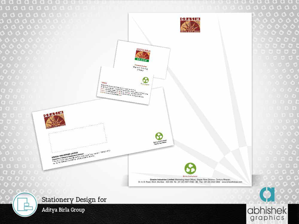 Stationery Design for Aditya Birla Group