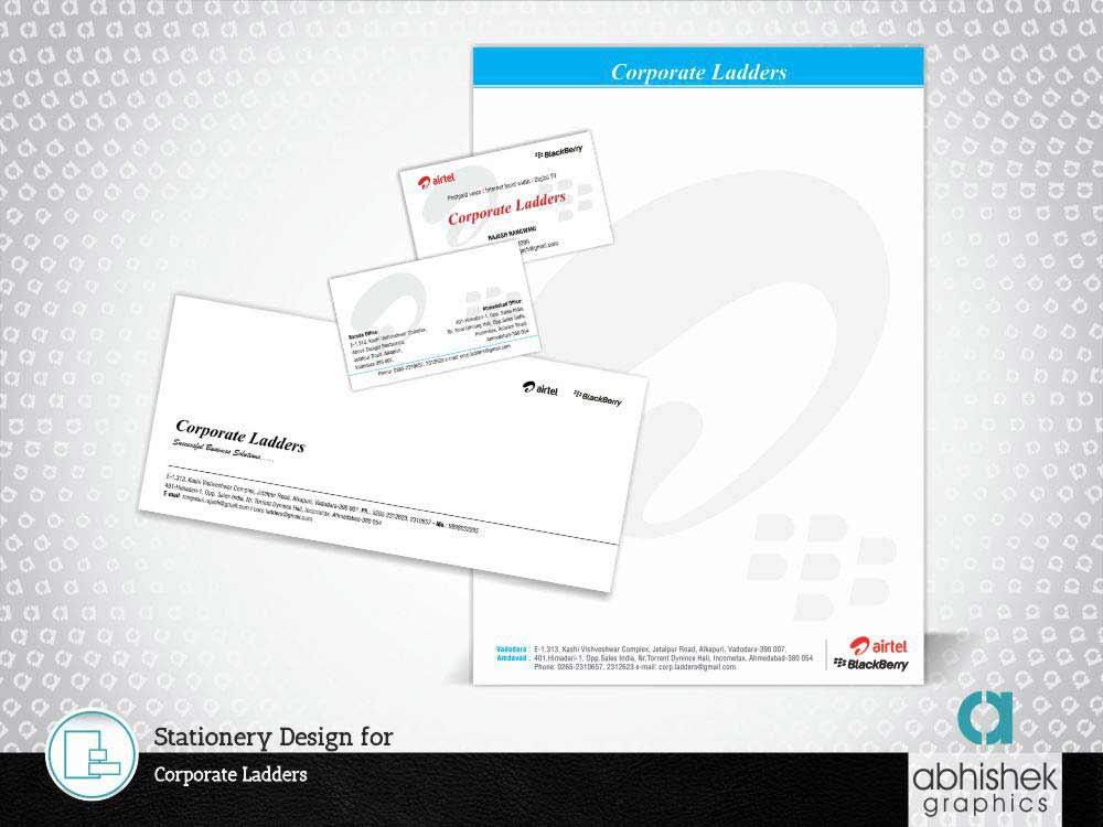 Stationery Design for Corporate