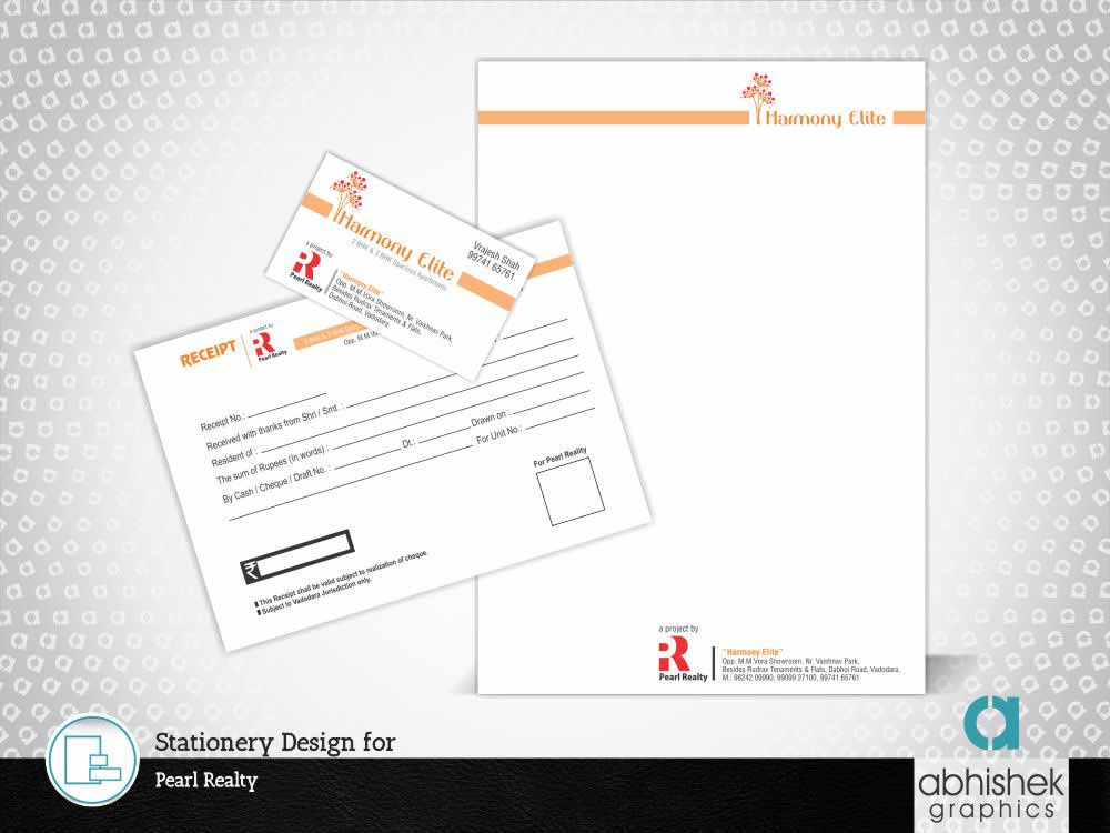 Stationery Design, Real Estate Stationery Design,
