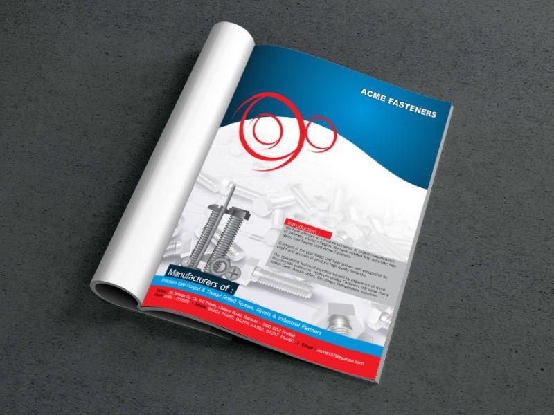 magazine design, graphic design company