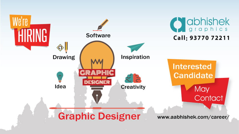 Graphic design jobs in vadodara abhishek graphics new apply now - Jabsin design ...