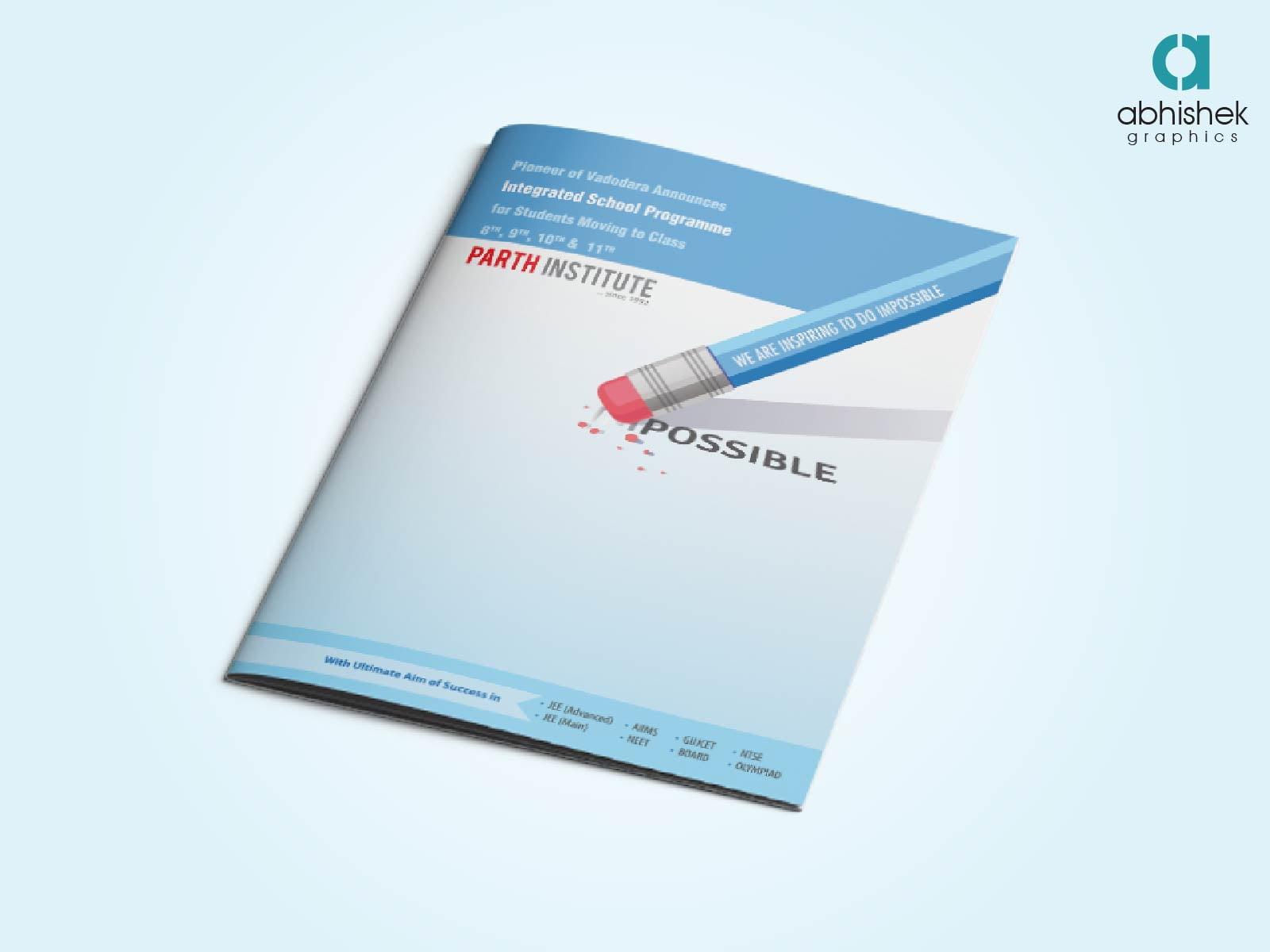 brochure design for training institute - brochure design for educational institute brochure design